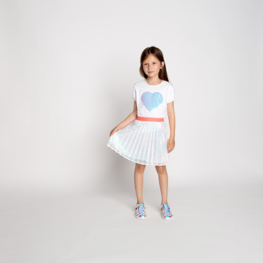 Pleated tulle and sequin skirt BILLIEBLUSH for GIRL