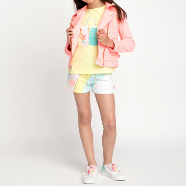Multicoloured fleece shorts BILLIEBLUSH for GIRL