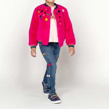 Jeans with multicoloured bows BILLIEBLUSH for GIRL