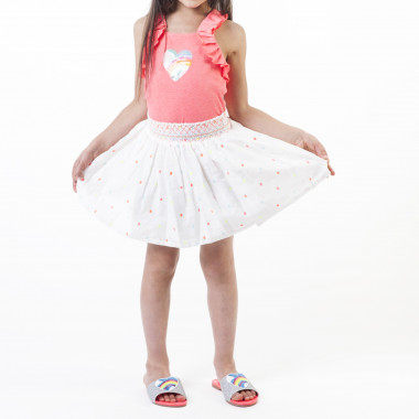Jersey vest top with heart BILLIEBLUSH for GIRL