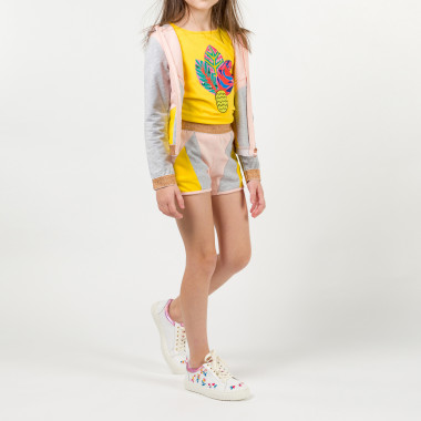 T-shirt with illustration BILLIEBLUSH for GIRL