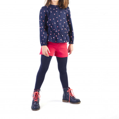 Printed viscose blouse BILLIEBLUSH for GIRL
