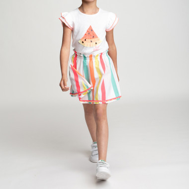 T-shirt with frilled sleeves BILLIEBLUSH for GIRL