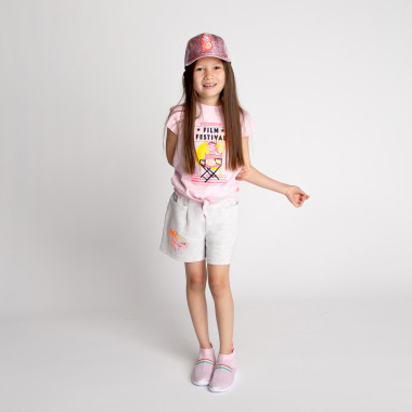 Novelty cotton T-shirt BILLIEBLUSH for GIRL