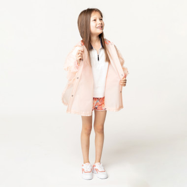 Waterproof hooded cape BILLIEBLUSH for GIRL
