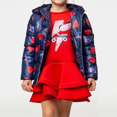 Hooded puffer jacket BILLIEBLUSH for GIRL