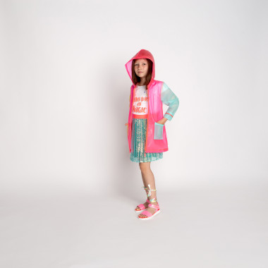 Transparent hooded raincoat BILLIEBLUSH for GIRL