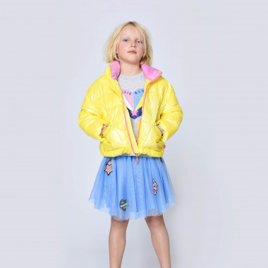 Short puffer jacket with stand-up collar BILLIEBLUSH for GIRL