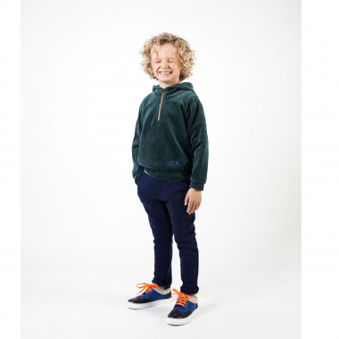 Fleece trousers with pockets BILLYBANDIT for BOY