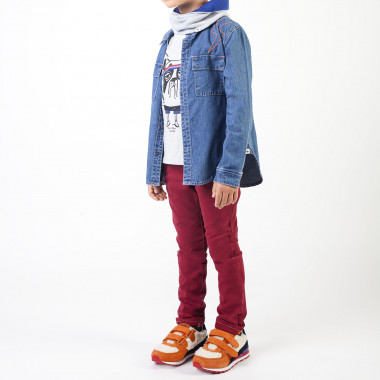 Shirt with press studs BILLYBANDIT for BOY
