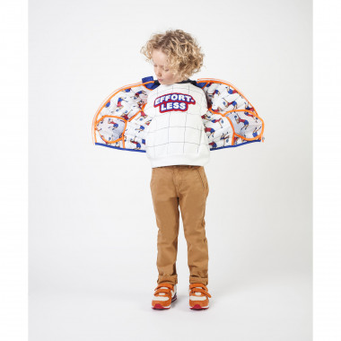 Chequered oversize sweatshirt BILLYBANDIT for BOY
