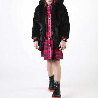 Plaid flannel dress LITTLE MARC JACOBS for GIRL