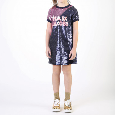 Two-tone sequined dress LITTLE MARC JACOBS for GIRL