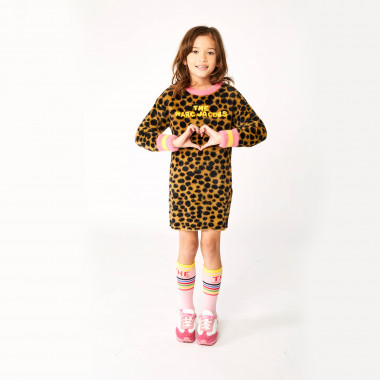 Tricot dress with stripes THE MARC JACOBS for GIRL