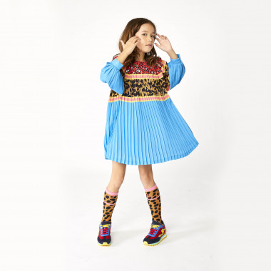 Printed pleated dress THE MARC JACOBS for GIRL