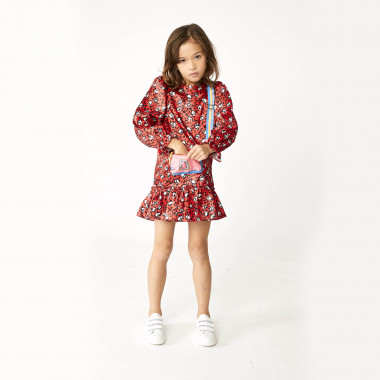Printed satin dress THE MARC JACOBS for GIRL