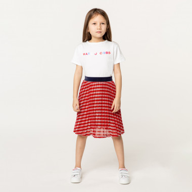 Pleated novelty skirt LITTLE MARC JACOBS for GIRL