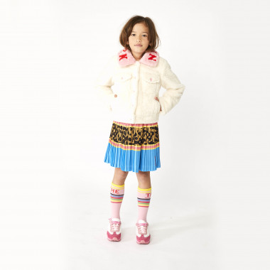 Printed pleated skirt THE MARC JACOBS for GIRL