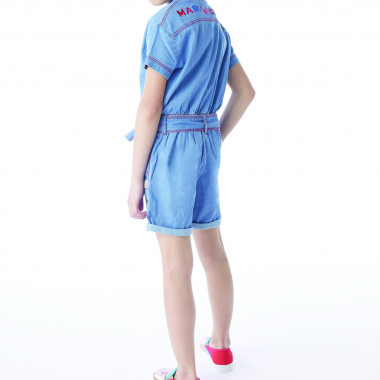 Topstitched romper LITTLE MARC JACOBS for GIRL