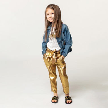 Smocked formal trousers LITTLE MARC JACOBS for GIRL