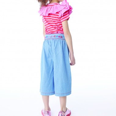 Flared lyocell trousers THE MARC JACOBS for GIRL