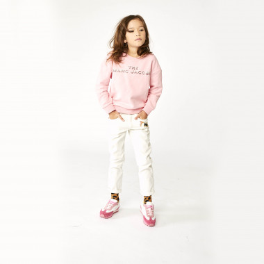 5-pocket twill trousers THE MARC JACOBS for GIRL