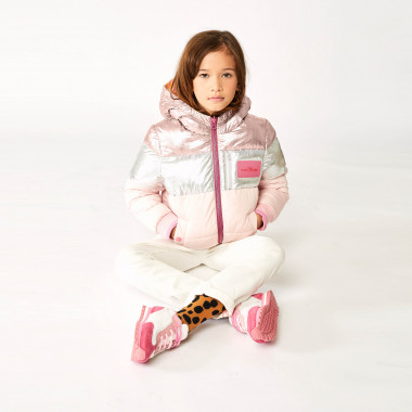 Reversible hooded puffer jacket THE MARC JACOBS for GIRL