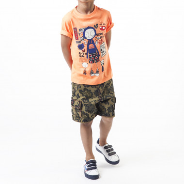Plant print bermuda shorts LITTLE MARC JACOBS for BOY