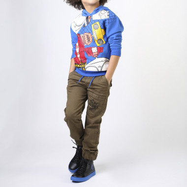 Cargo trousers with print LITTLE MARC JACOBS for BOY