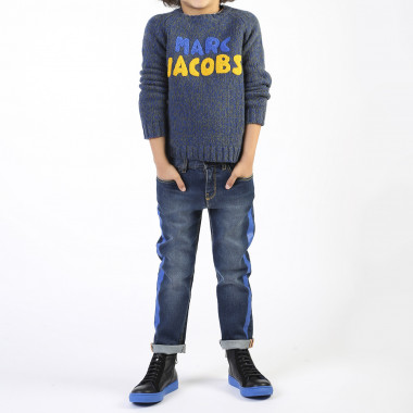Straight jeans with stripe THE MARC JACOBS for BOY