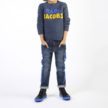 Wool and alpaca blend jumper LITTLE MARC JACOBS for BOY