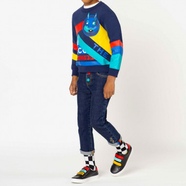 Printed fleece sweatshirt THE MARC JACOBS for BOY