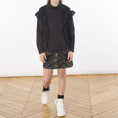 Short printed skirt ZADIG & VOLTAIRE for GIRL