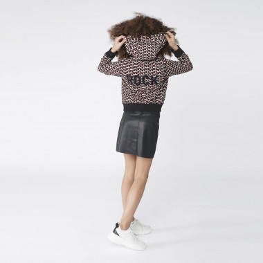 Straight-cut faux leather skirt ZADIG & VOLTAIRE for GIRL