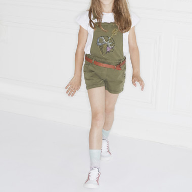 Embroidered printed t-shirt ZADIG & VOLTAIRE for GIRL