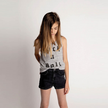 Studded jersey vest top ZADIG & VOLTAIRE for GIRL