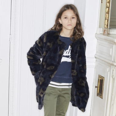 Synthetic fur jacket ZADIG & VOLTAIRE for GIRL