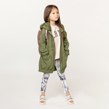 Zipped hooded parka ZADIG & VOLTAIRE for GIRL
