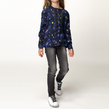 Scale-effect leather trainers ZADIG & VOLTAIRE for GIRL