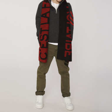 Jacquard scarf ZADIG & VOLTAIRE for BOY