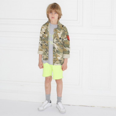 Herringbone fleece shorts ZADIG & VOLTAIRE for BOY