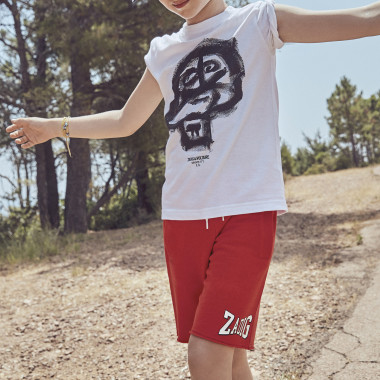 Fleece shorts with logo ZADIG & VOLTAIRE for BOY
