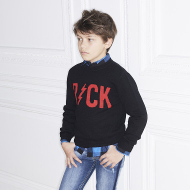 Cashmere and wool knit jumper ZADIG & VOLTAIRE for BOY