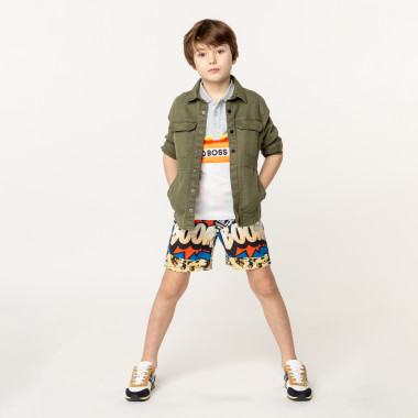 Cotton jacket with back print ZADIG & VOLTAIRE for BOY