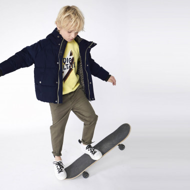 Hooded puffer jacket ZADIG & VOLTAIRE for BOY