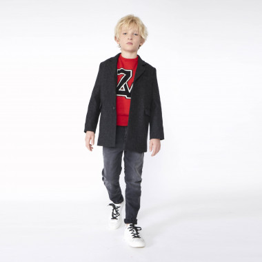 Lined wool coat ZADIG & VOLTAIRE for BOY
