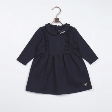 Flared milano knit dress CARREMENT BEAU for GIRL