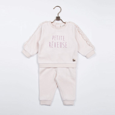 Velour jogging trousers CARREMENT BEAU for GIRL