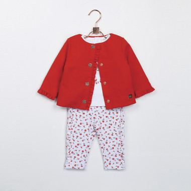 Floral fleece trousers CARREMENT BEAU for GIRL