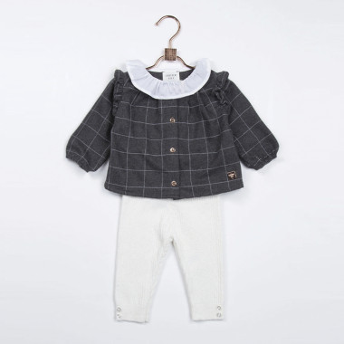 Flannel blouse CARREMENT BEAU for GIRL